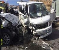 مصرع شخص وإصابة 6 أخرين فى حادث تصادم بأسوان