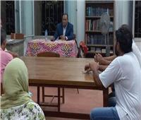 التذوق السينمائي بعنوان«أول عرض سينمائي في مصر» بثقافة «طور سيناء»