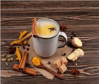 طريقة تحضير شاي بالكركم والقرفة