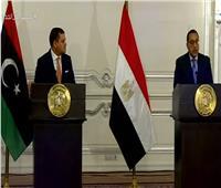 مدبولي: مصر مستمرة فى تقديم كل الدعم السياسى والاقتصادى لليبيا