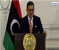رئيس وزراء ليبيا: الرئيس السيسي أكد أن مصر دائمًا مع الشعب الليبي