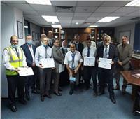 مصر للطيران.. تكريم العاملين بالخدمات الأرضية لنجاحهم في تجديد «الايزاجو»