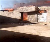 السيطرة على حريق اندلع في ورشة موبيليابأسوان دون وقوع خسائر بشرية