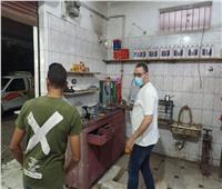 تحرير 24 محضرعدم إرتداء كمامة ورفع 237حالة إشغال بالبحيرة