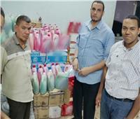 ضبط 100 كيلو جبنة داخل مصنع غير مرخص في دمنهور بالبحيرة