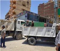 القليوبية تواصل تحرير الشوارع والطرق من الإشغالات
