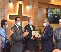 محافظ أسيوط ورئيس الطائفة الإنجلية يشهدان إفتتاح كنيسة الناصرية بمركز الفتح