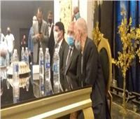 وزير النقل يشهد عقد قران نجلي عاملين بالسكة الحديد في بني سويف   صور