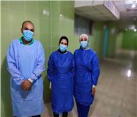 ولادة قيصرية ناجحة لمريضة بكورونا داخل مستشفى الحجر الصحى بكفر الدوار