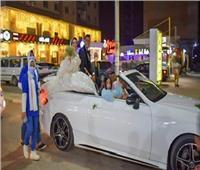 عروسان يشاركان في حملة معًا نطمئن لتلقي لقاح كورونا بالشرقية