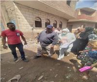 إزالة 632 عقارا من منطقة عزبة «أبو قرن» العشوائية ونقل 1680 أسرة
