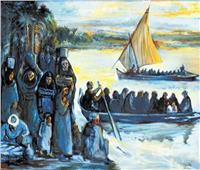 النيل فيضان الحكايات