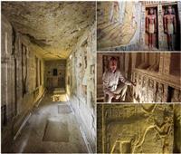 مقبرة «واح تي» تكشف أسرار الحياة اليومية للمصريين القدماء