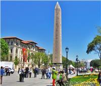 عودة المسلة المصرية من إسطنبول والذي هرّبها الرومان