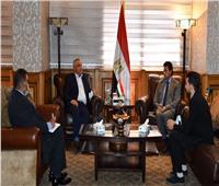 «وزير الرياضة» يلتقي مدير المكتب الإقليمي للوكالة الدولية لمكافحة المنشطات