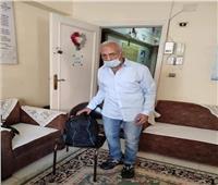 بعد معاناة سنوات بالشارع.. «تضامن الغربية» تجمع شمل مسن بأسرته في لبنان