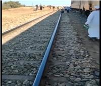سحب قطار ركاب تعطل بخط «السويس - الإسماعيلية». وعودة الحركة لطبيعتها