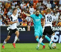 شوط أول سلبى بين ريال مدريد وفالنسيا بالدورى الإسباني