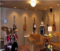 نصائح منزلية   إنشاء غرفة موسيقى في المنزل