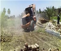 إزالة ١٣٨ حالة تعدي على الأراضي الزراعية بالشرقية