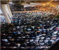لقطات من جنازة الشيخ هاني الشحاتبقرية شبرا العنب في الشرقية