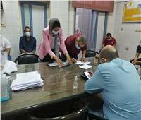 جامعة عين شمس تواصل تطعيم الطلاب وهيئة التدريس والعاملين ضد كورونا