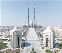 مسجد مصر الكبير بالعاصمة الجديدة يبهر «السوشيالجية»