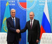 فلاديمير بوتين والرئيس الكازاخستاني يبحثان التطورات الإقليمية