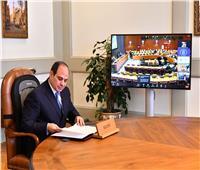 الرئيس السيسي يعلن تطلع مصر لاستضافة الدورة الـ27 لقمة تغير المناخ