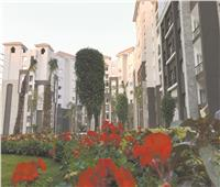 8 أحياء سكنية متطورة تضم منظومة ذكية لجمع المخلفات وشبكات دش مركزى