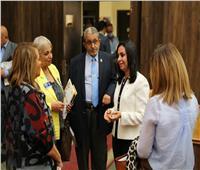 «قومي المرأة» يستقبل رئيسة لجنة تمكين المرأة بنوادي روتاري مصر