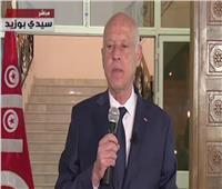 قيس سعيد : لم يكن هناك انتقال ديمقراطي فى تونس
