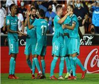 ترتيب الدوري الإسباني.. الملكي يتصدر وبرشلونة في المركز السابع