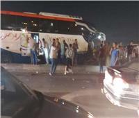 مصرع 3 أشخاص وإصابة 18 في حادث تصادم بـ«القاهرة - الإسكندرية» الصحراوي