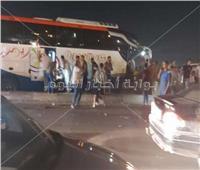 مصادر تكشف تفاصيل مصرع وإصابة 21 شخصًا بطريق القاهرة الإسكندرية الصحراوي