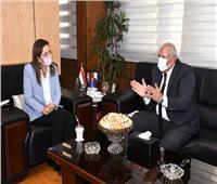 وزيرة التخطيط تلتقي محافظ الوادي الجديد لمناقشة مشروعات الخطة الاستثمارية