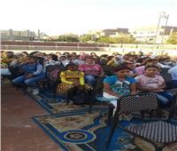 انطلاق الفعاليات الابداعية لمبادرة حياة كريمة بقنا