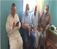 محافظ الشرقية يتابع سير العمل بقرية الصوفية بمركز أولاد صقر