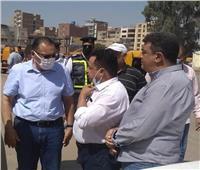 محافظ الشرقية يوجه بسرعة إزالة الإشغالات وتراكمات القمامة بشوارع كفر صقر
