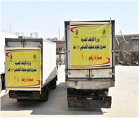 انطلاق سيارات توزيع لحوم الأضاحي إلى 4 محافظات