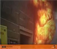 فيديو  انفجار محطة مترو في نيويورك بسبب دراجة هوائية