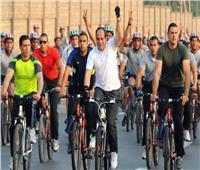 علاء النهري يوضح أهمية ركوب الدراجات وأهم رسائل الرئيس السيسي | فيديو