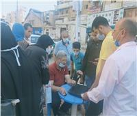 إقبال كبير من أهالي البحيرة على حملة «معا نطمئن»لتطعيم المواطنين