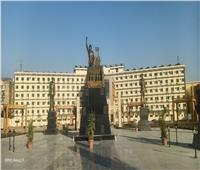تخليدا لذكراه..تمثال للمشير طنطاوي وسط مدينة أسوان | صور