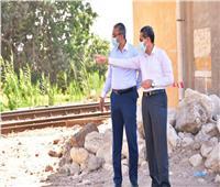 جولة تفقدية لمحافظ الغربية لمتابعة مشاريع التطوير بطنطا