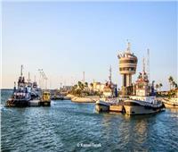 حركة الصادرات والواردات اليوم بهيئة ميناء دمياط البحرى