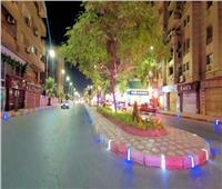 الانتهاء من تطوير شارع عبد السلام الشاذلي بدمنهوربتكلفة ٣٥ مليون جنيه.. صور