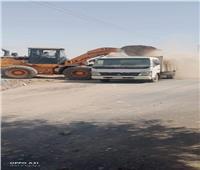 استمرار حملات النظافة بقرى وأحياء المنيا