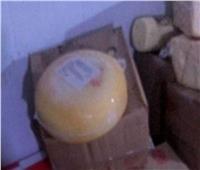 ضبط مصنع تعبئة وتغليف للجبن الفاسد بالعمرانية