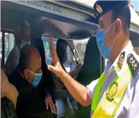 980 مخالفة لعدم الالتزام بارتداء الكمامات بالجيزة